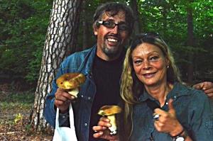 Pilze Sammeln