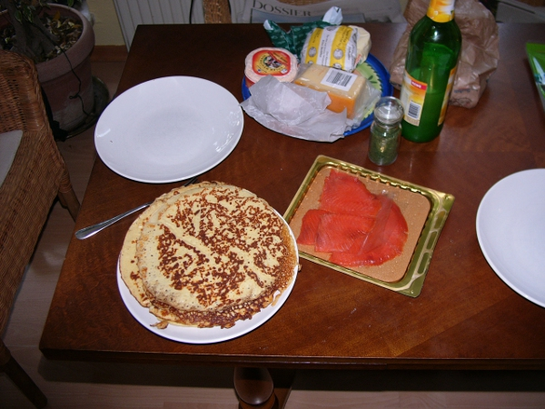 breakfast with Low Carb pancakes