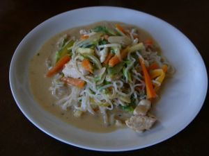 Low Carb Asia Pfanne