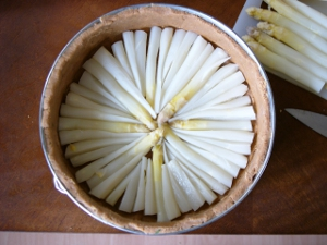 Low Carb Spargel Torte